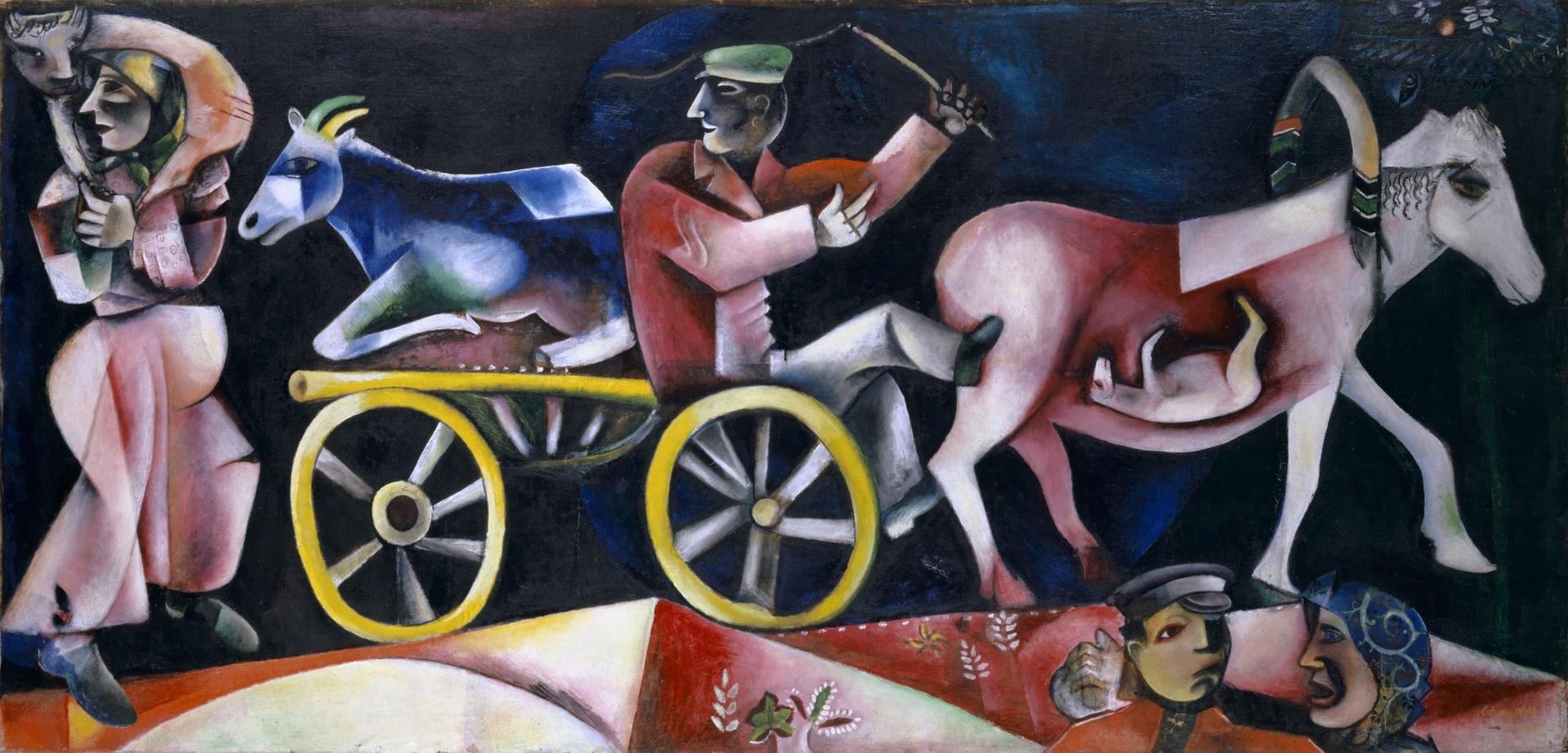 Chagall. 1911-1919, les années charnières