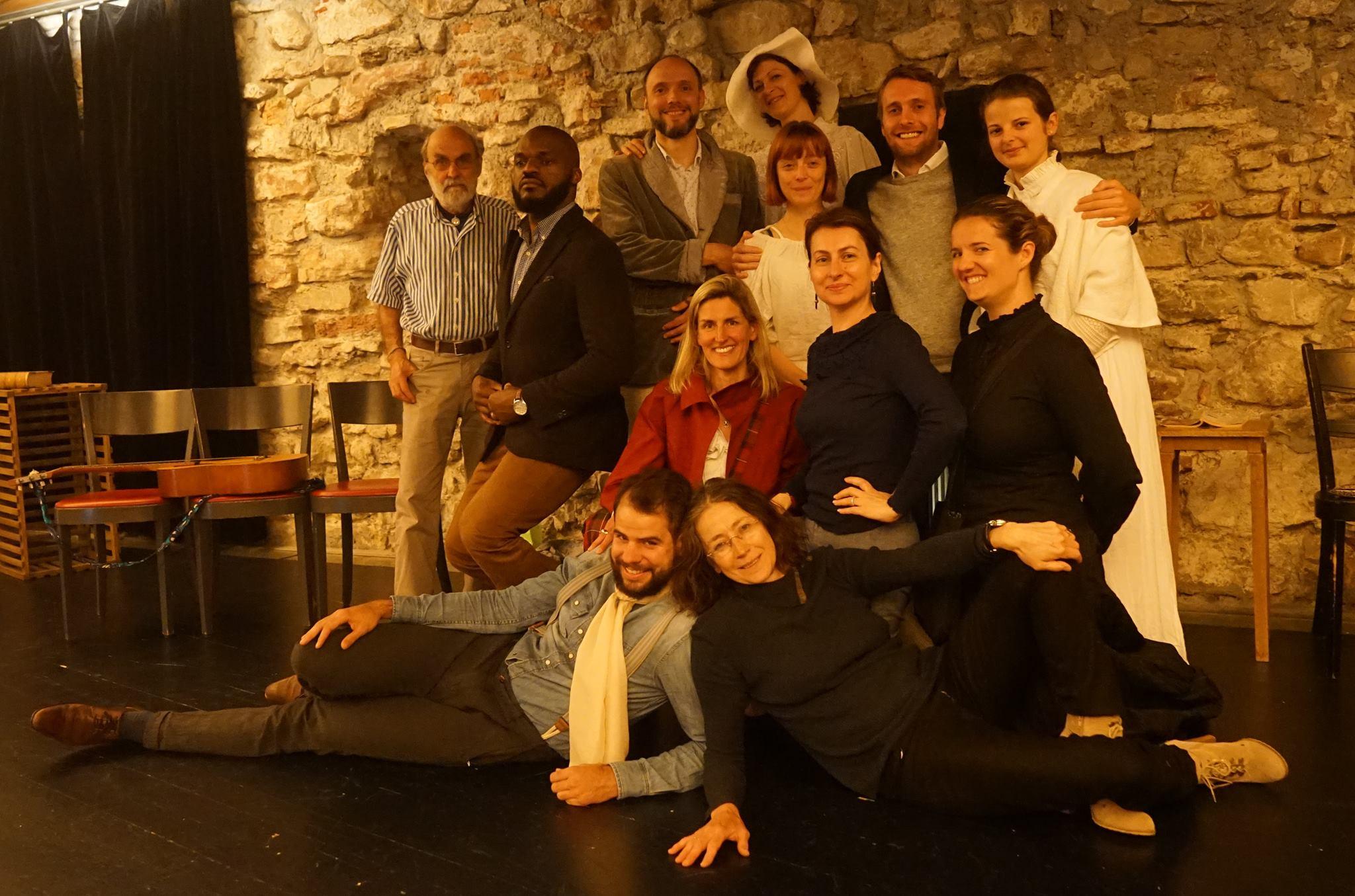 La Cerisaie par la troupe de théâtre Macha et Compagnie