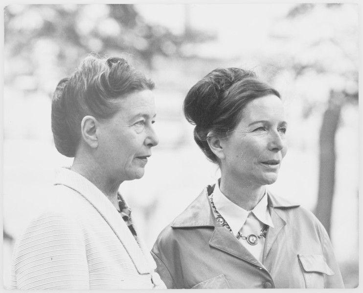 Les Sœurs Beauvoir, Hélène et Simone, deux artistes majeures de l'histoire du XXème siècle, engagées pour nos libertés et pour les droits des femmes.