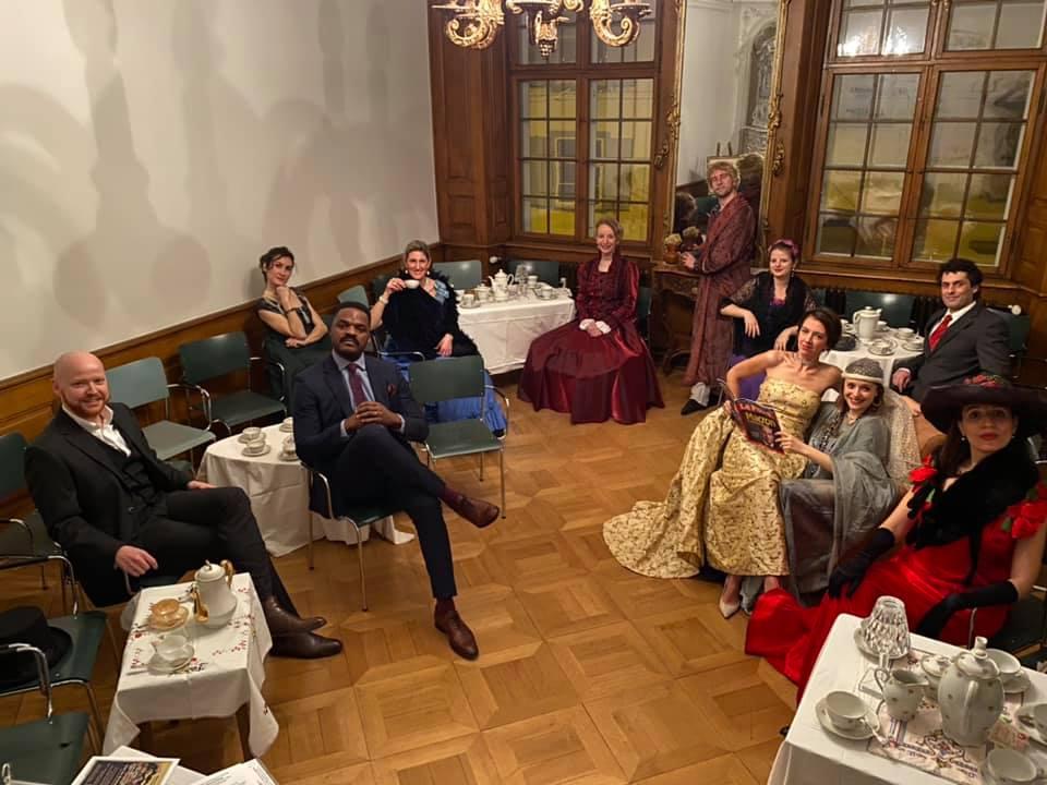 Chez les Brossarbourg, par la troupe Macha et Compagnie de l'Alliance Française de Bâle