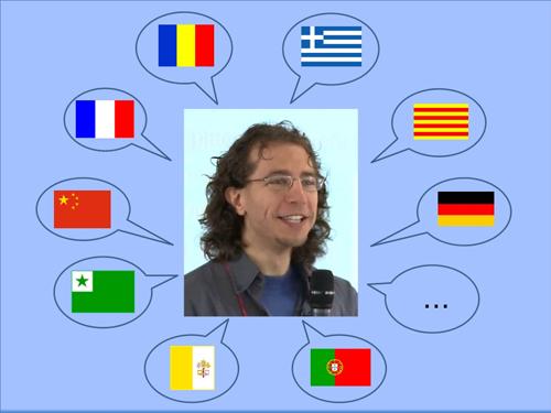 Le français, le français des îles…une aventure linguistique avec Cesco Reale