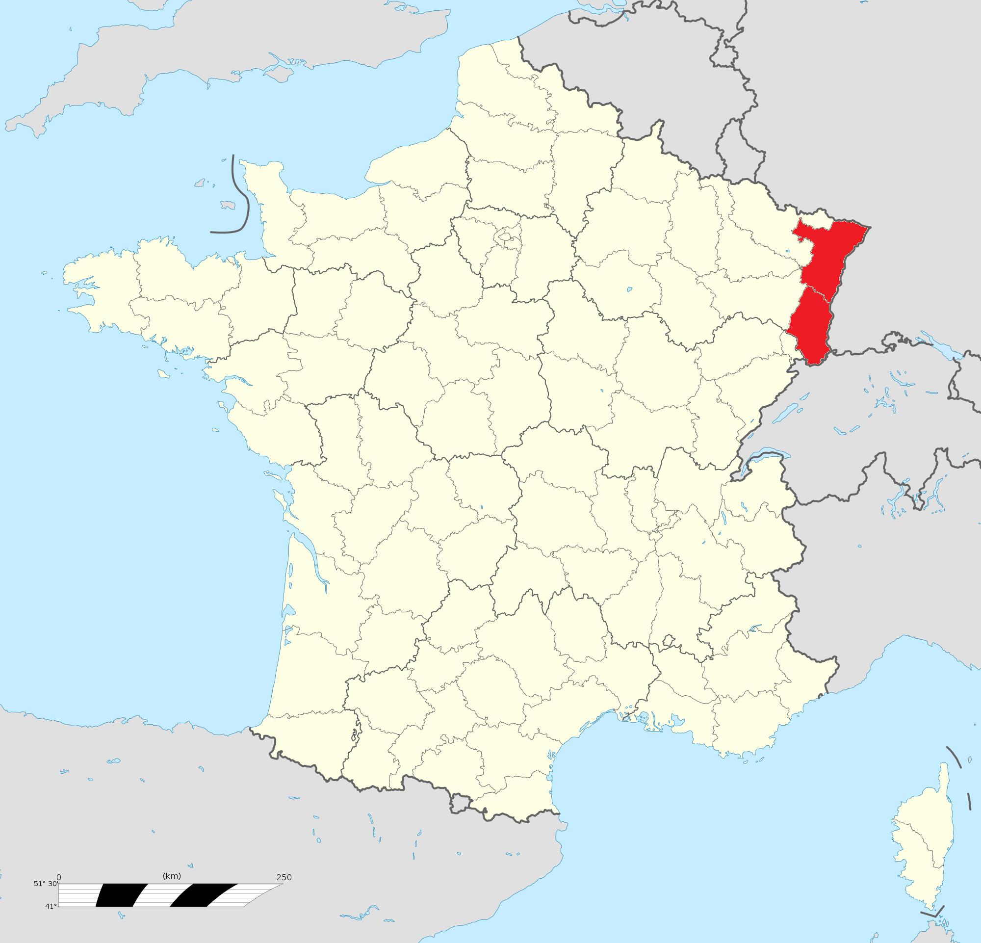 L'Histoire de l'Alsace en 59 minutes