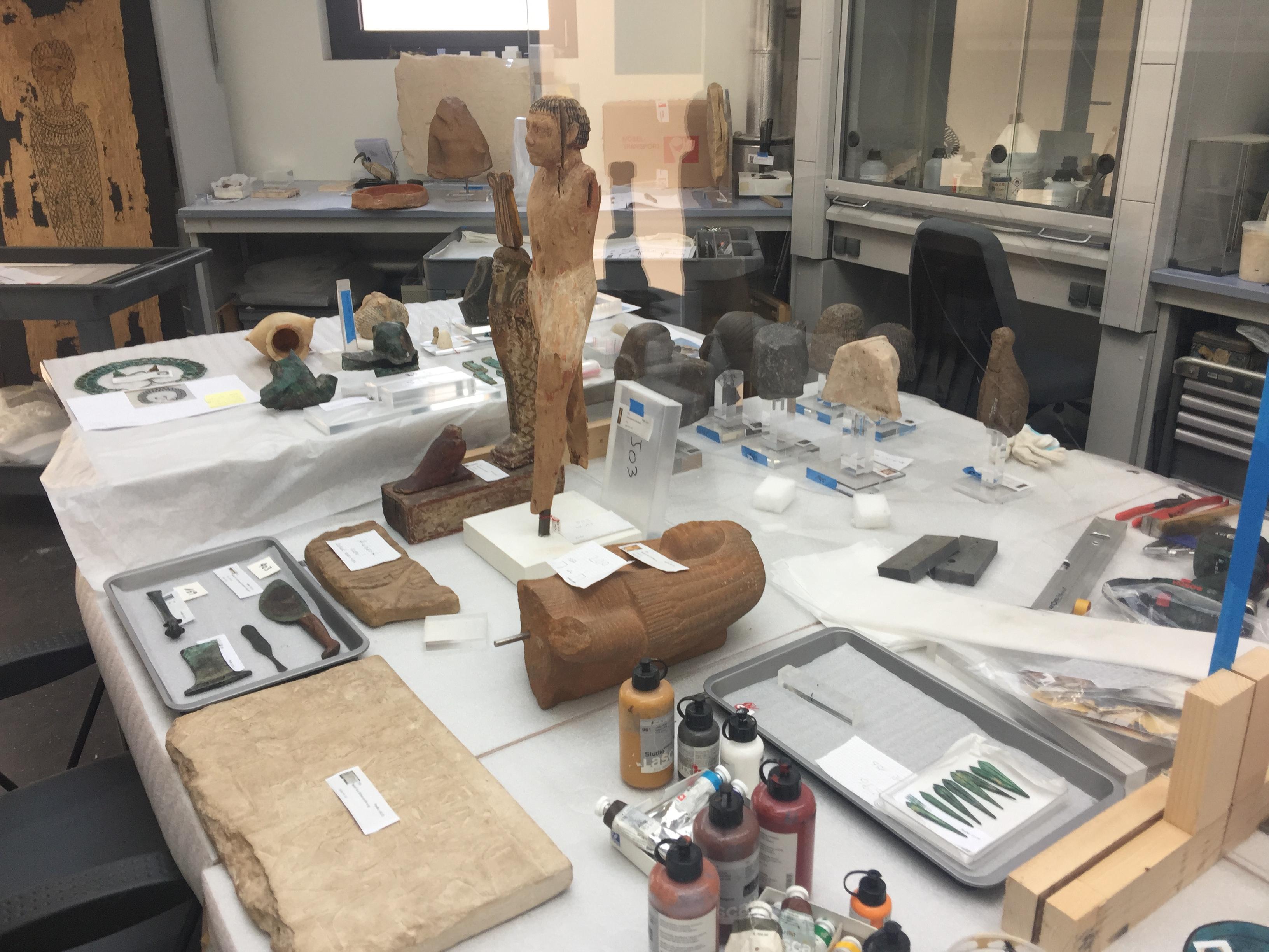 Les coulisses insoupçonnées du Musée des Antiquités de Bâle