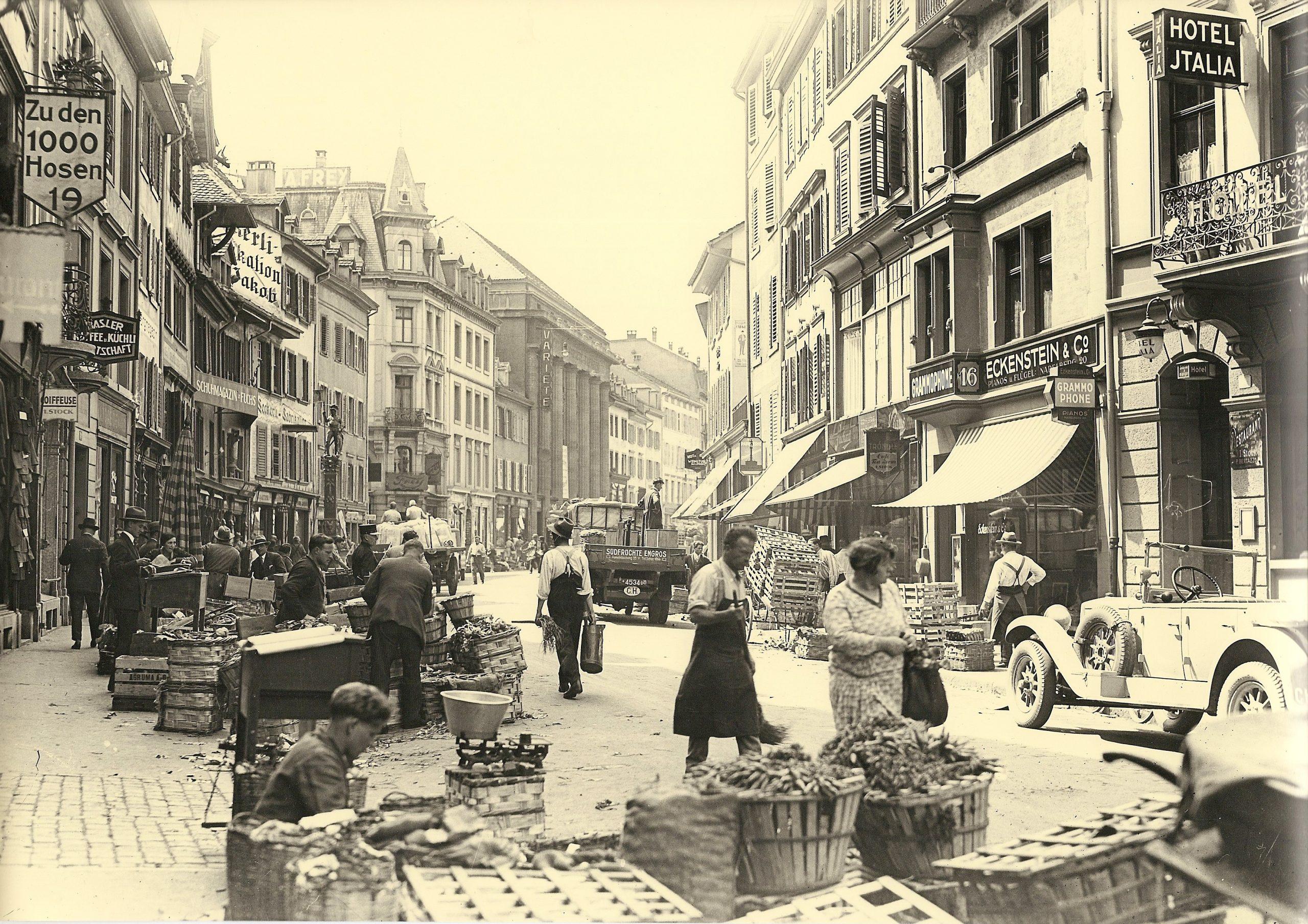 Bâle au miroir de 100 ans de photographies de l'atelier Hoffmann